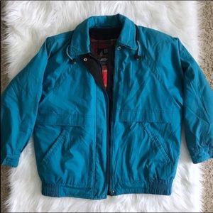 [London Fog] Blue Vintage Jacket w/Removable Liner
